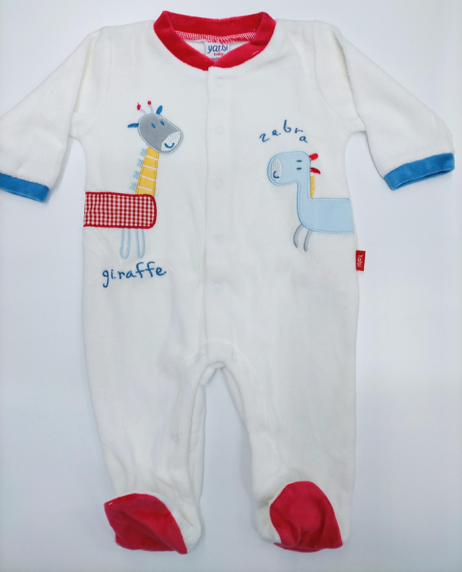 Pijama bebé Abierto  Jirafa de Yatsi.