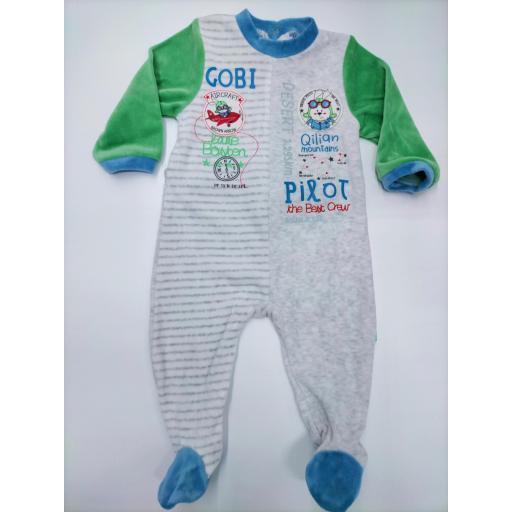 Pijama bebé  Aviador de Yatsi.