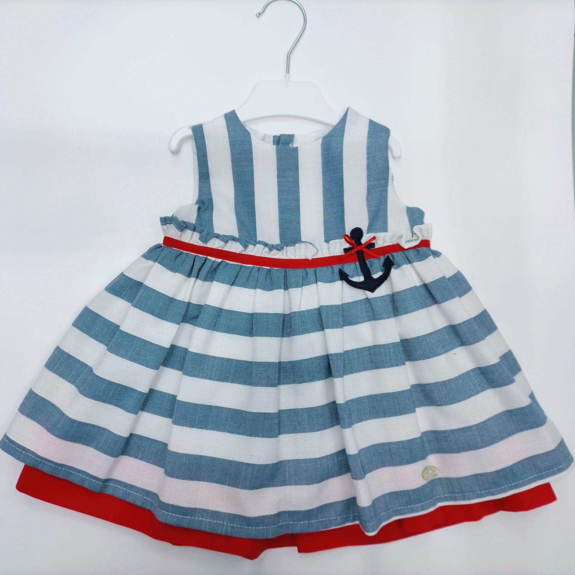 Vestido niñaMarinero de Basmarti.