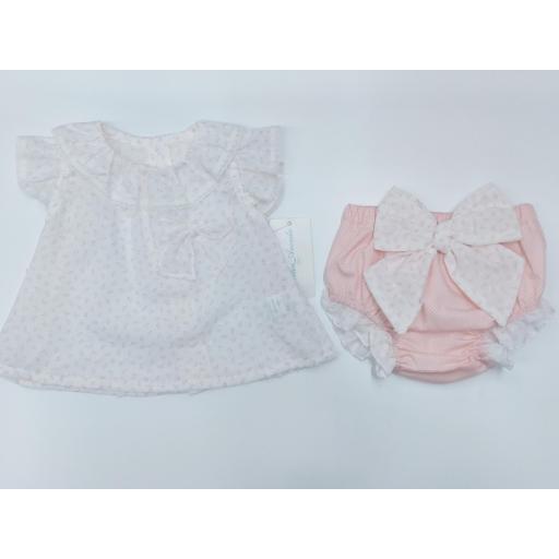Camisa bebé con ranita en Rosa  de Martín Aranda. [0]