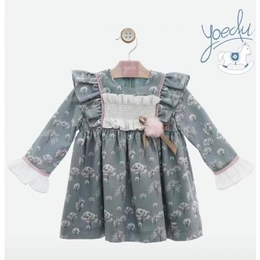 Vestido de niña familia Cirene de Yoedu.