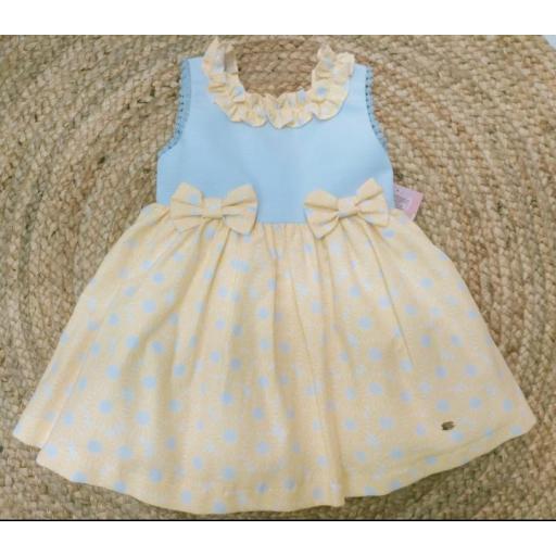 Vestido de niña  familia  Alamo de Yoedu.