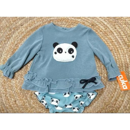 Jesusín niña Panda de Basmati.