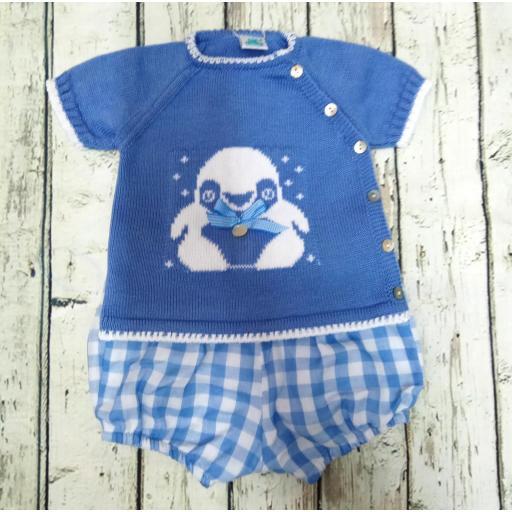 Conjunto de niño Pingüino de Pangasa.