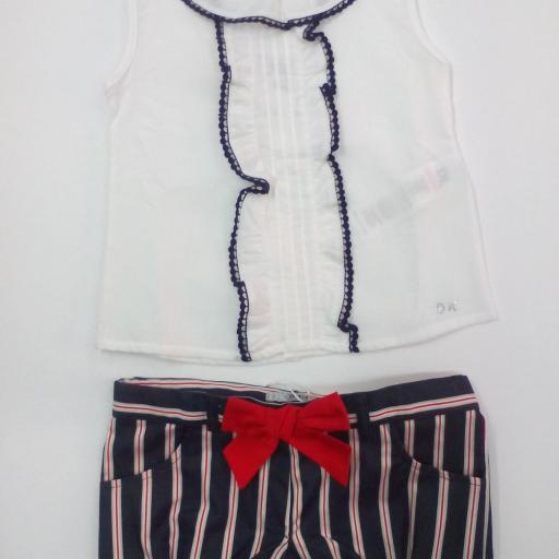 Camisa niña con short marinero de Dr Kid.  [1]