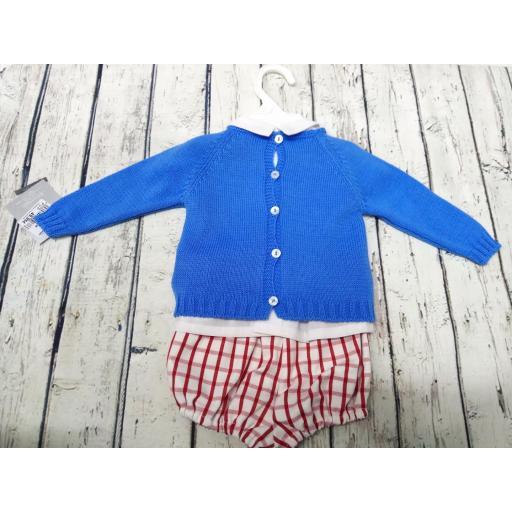 Conjunto Baby azulón jersey Estrella de Yoedu. [1]