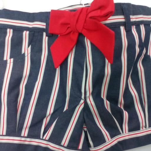 Conjunto niña con pantalón rayas marinero de Dr Kid.  [2]