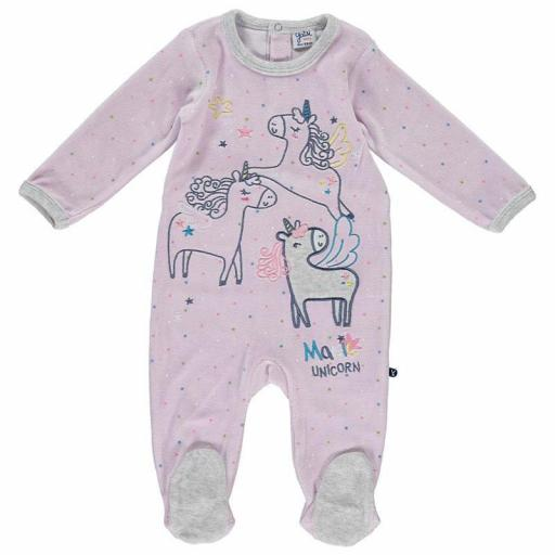 Pijama bebé niña Unicornio de Yatsi.