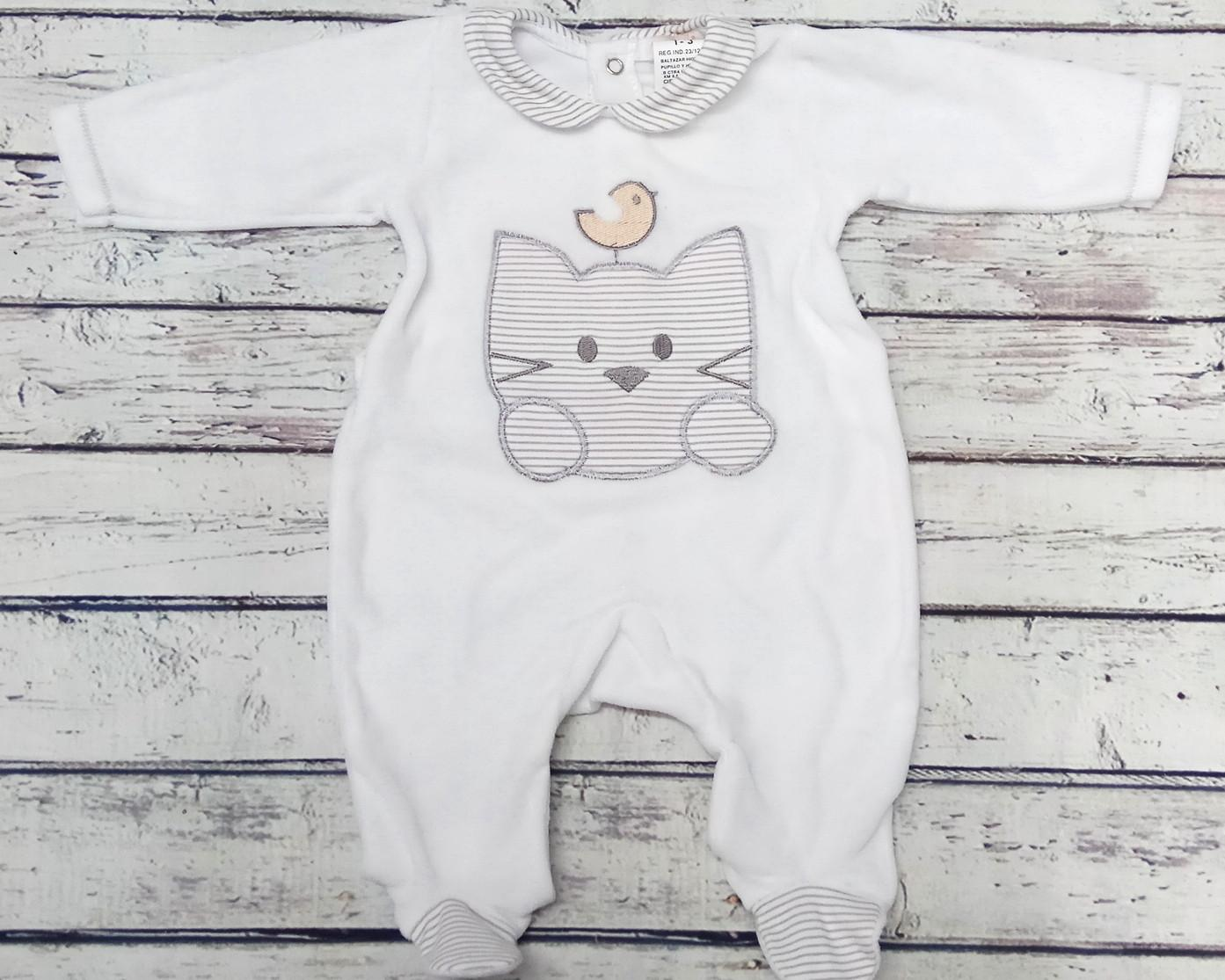 "Pijama bebé "" Gato "" de Tony Bambino"