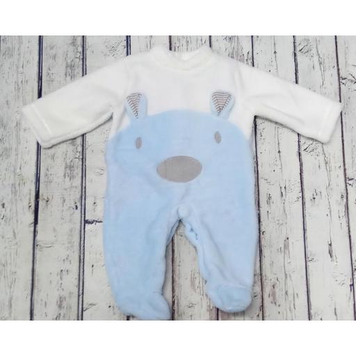 Pijama de bebé osito