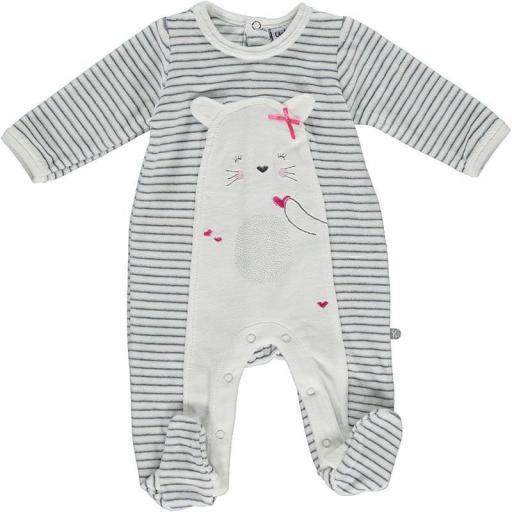 Pijama bebé niña Osita de Yatsi.
