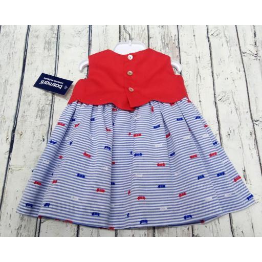Vestido de niña marinero  Basmarti.  [1]