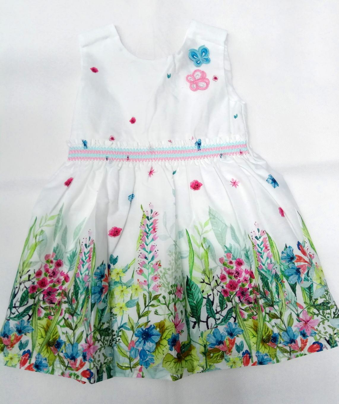 Vestido de niña de flores de Dr Kid.
