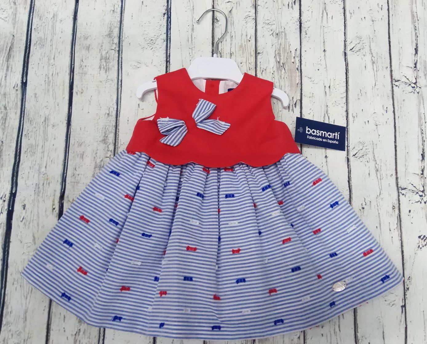Vestido de niña marinero  Basmarti.