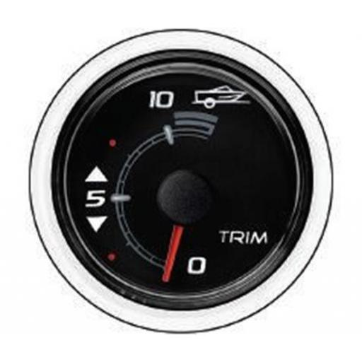 Mercury-Mercruiser 79-8M0052849 TRIM GAUGE-BLACK