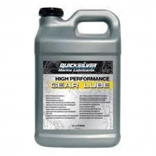 aceite high performance QUICKSILVER sae 90 9,5 l