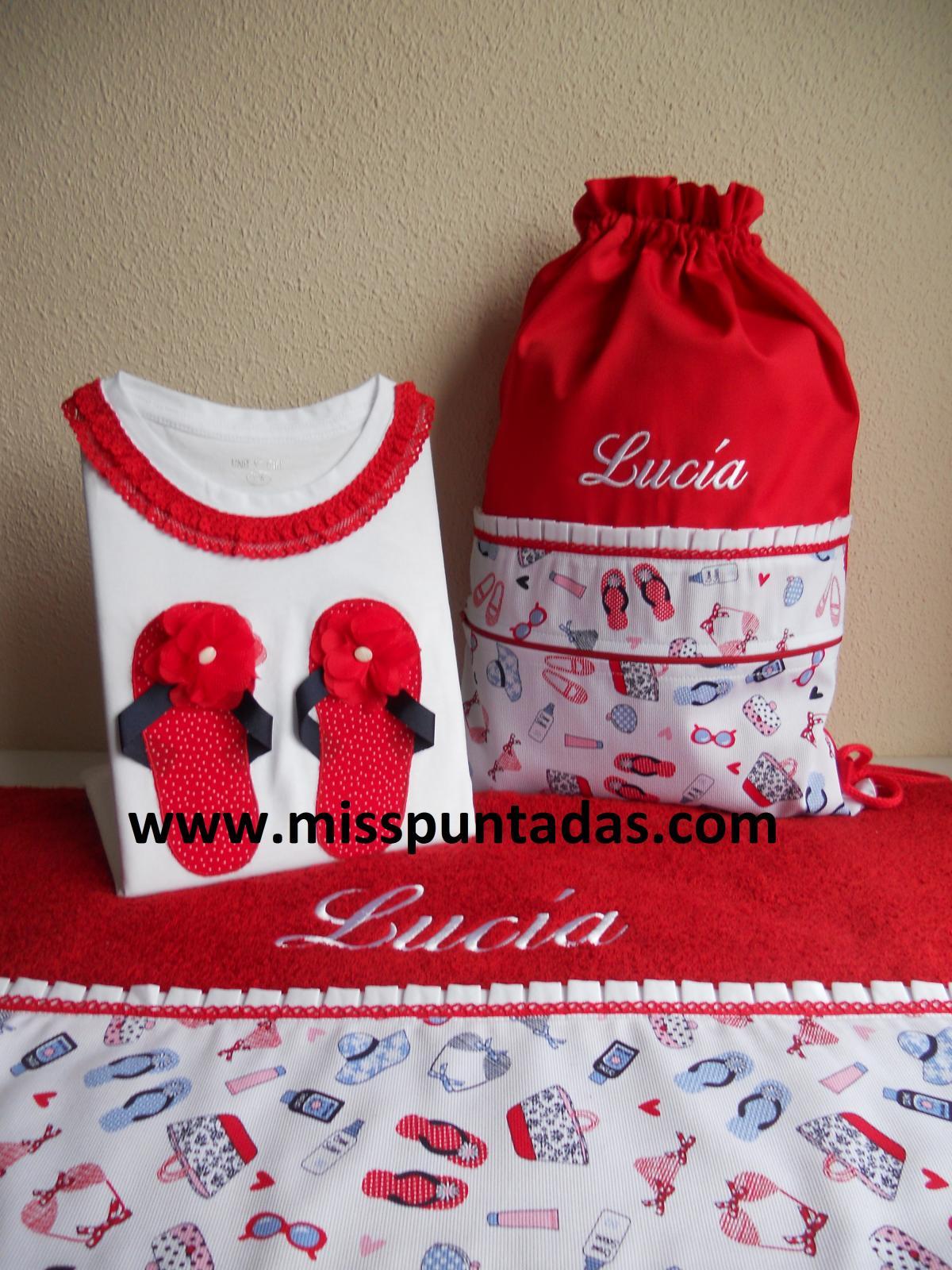 Bolsa /mochila Lucía.