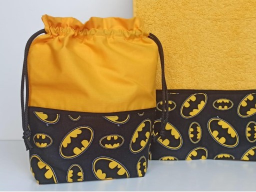 Toalla - Bolsa Batman
