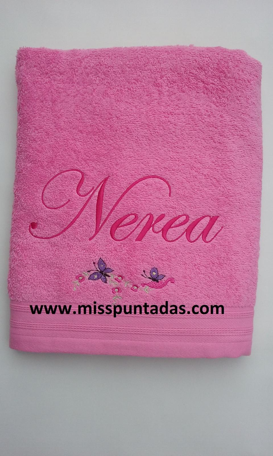 Toalla Mariposas Nerea.