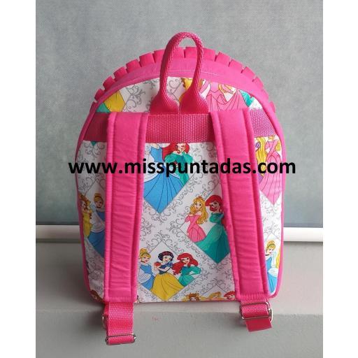 Mochila Princesas rosa. [1]