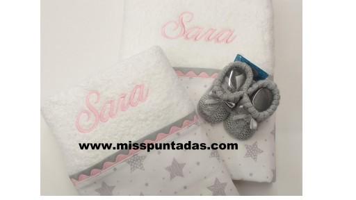 Toallas Estrellas Sara