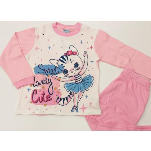 Pijama niña KN-263.
