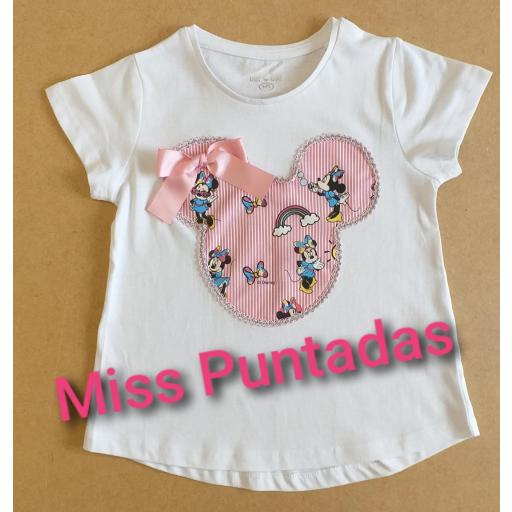 Camiseta Minnie.