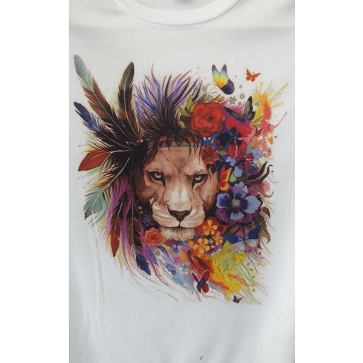 Camiseta leona. [1]