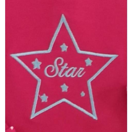 Sudadera Star fucsia  [2]
