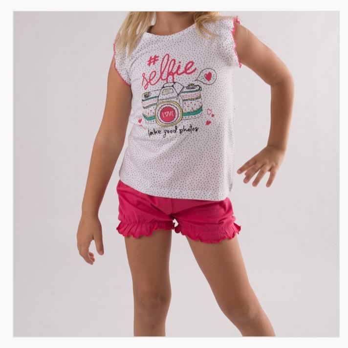 Pijama Selfie niña