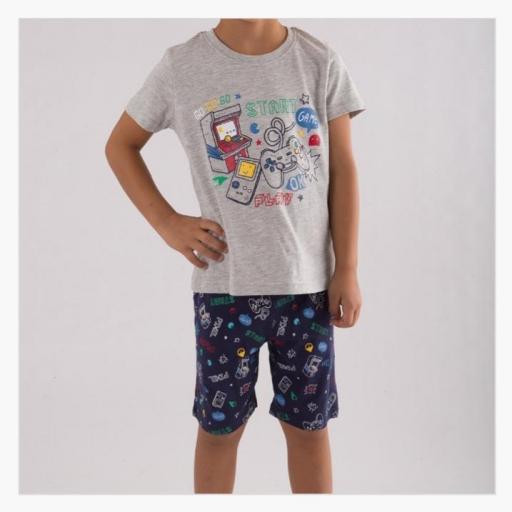 Pijama niño Game
