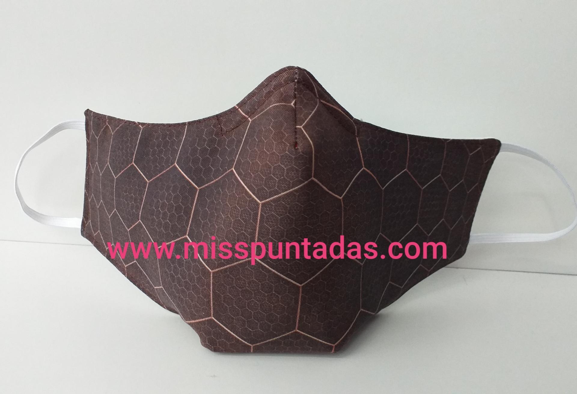 Mascarilla Panel hexagonal  MP-VR