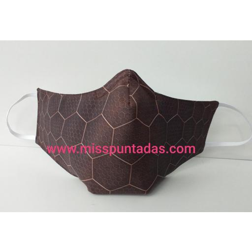 Mascarilla Panel hexagonal  MP-VR