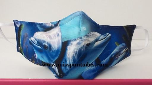 Mascarilla Delfines MP-VR