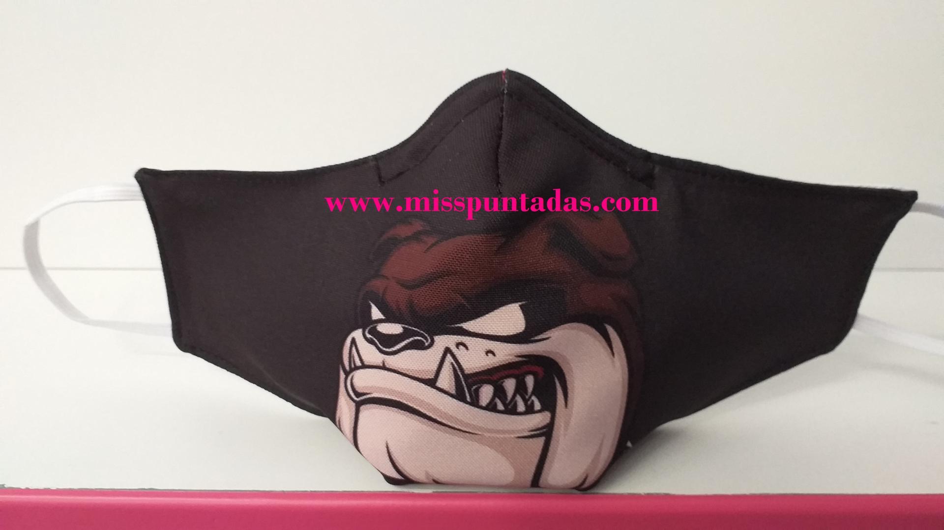 Mascarilla Bull Dog MP-VR