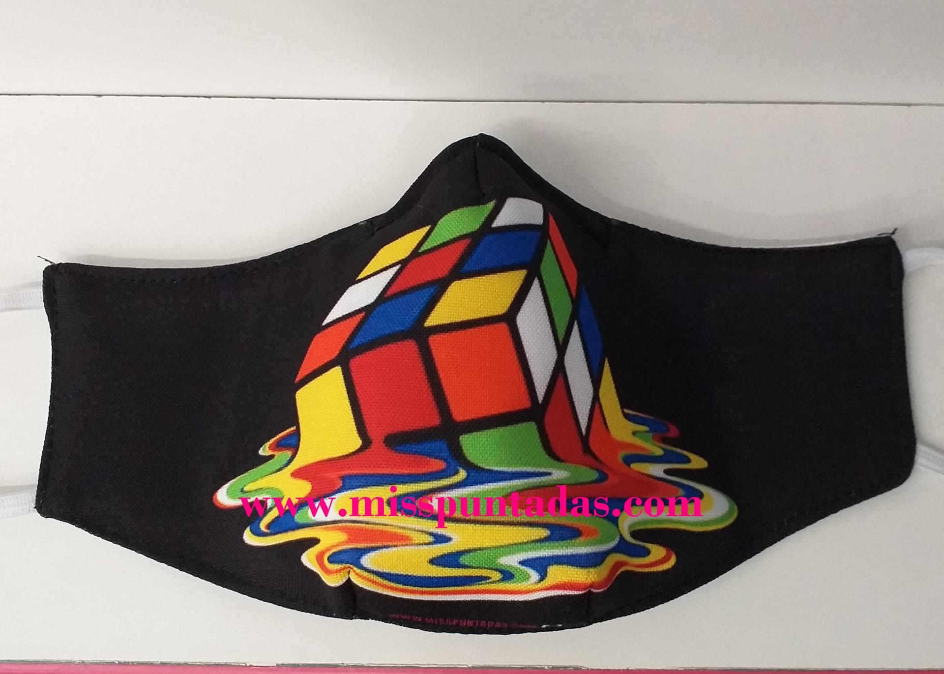 Mascarilla Cubo Rubik MP-VR