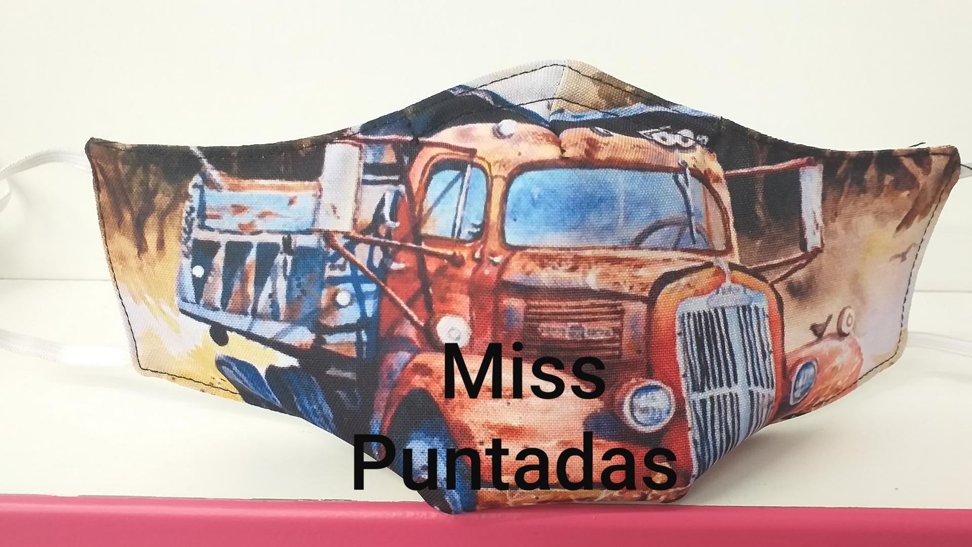 Mascarilla Camión Volquete MP- VR