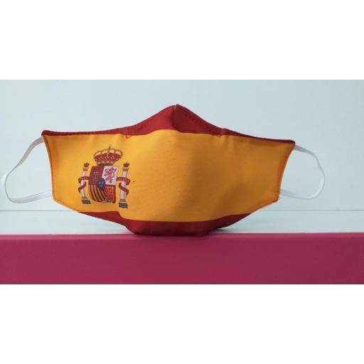 Mascarilla bandera España MP-VR