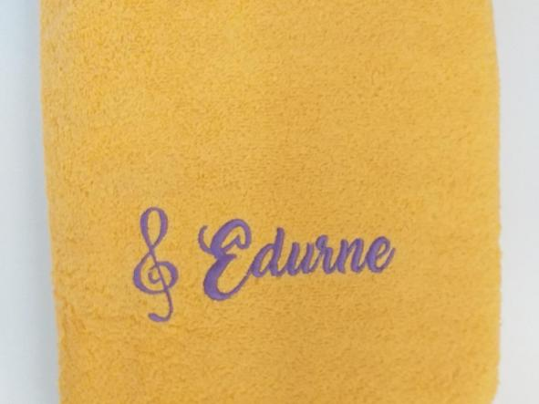 Toalla amarilla Edurne. [0]