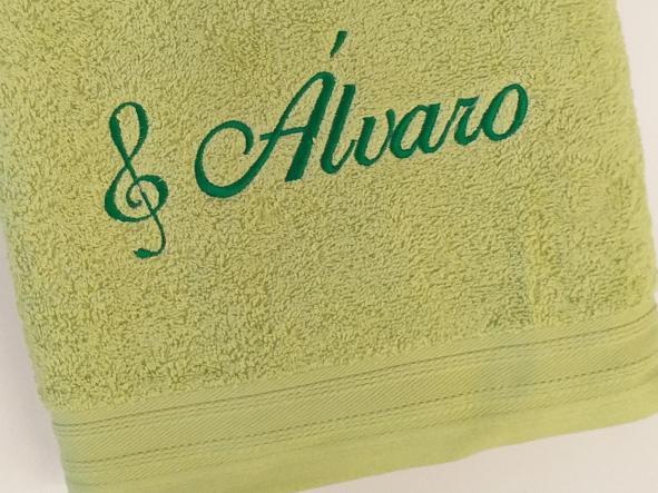 Toalla pistacho Álvaro