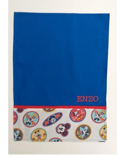 Mantel azul Mickey Mouse