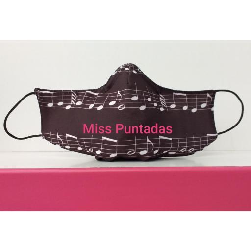 Mascarilla Notas Música  MP-VR