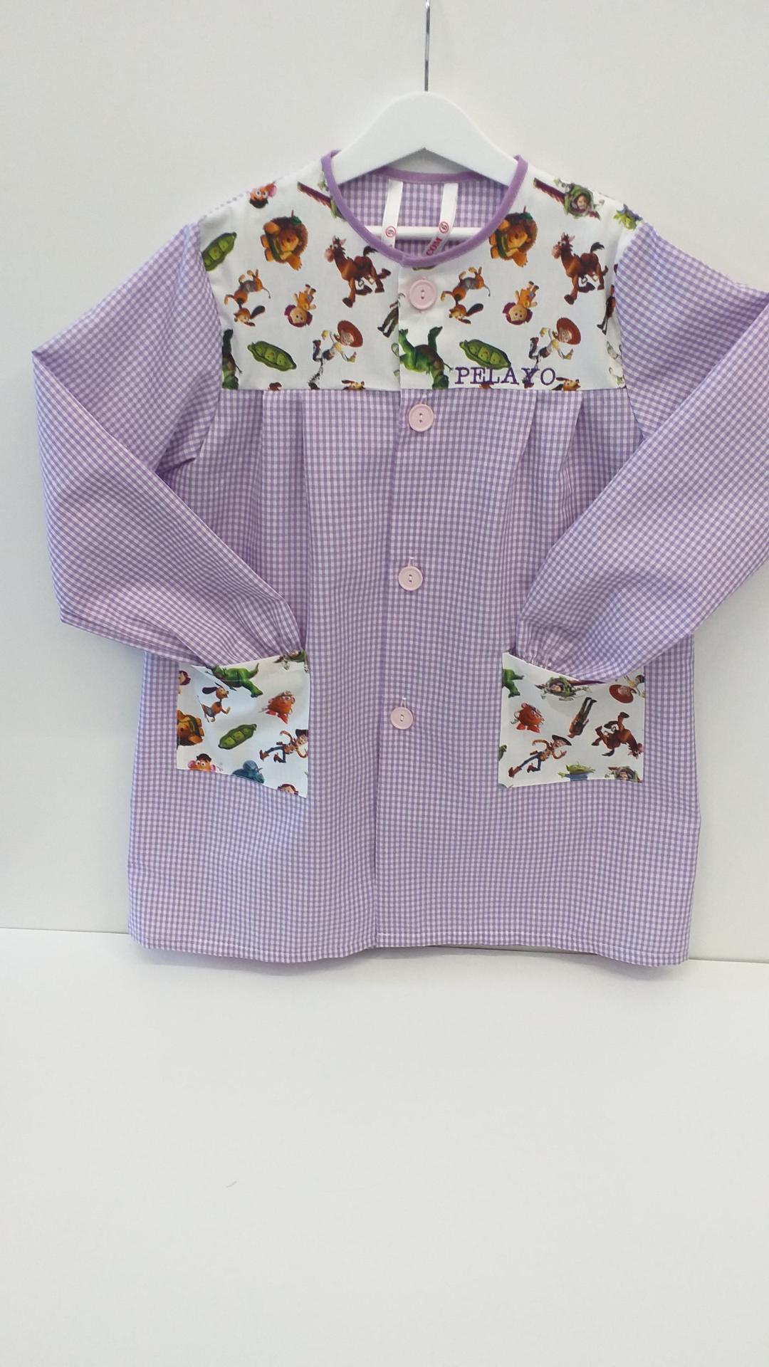 Bata Toy Story vichy lila