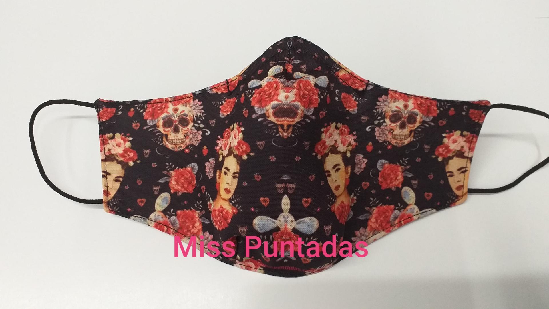 Mascarillas  Frida Kahlo 2 MP-VR.