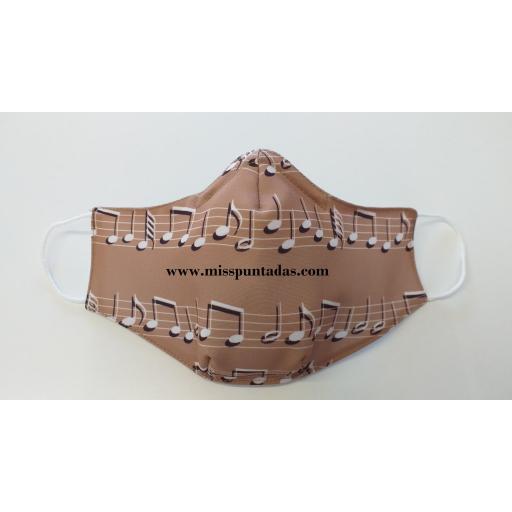 Mascarilla Camel notas Música