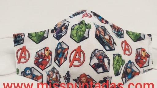 Mascarilla Avengers MP-VR