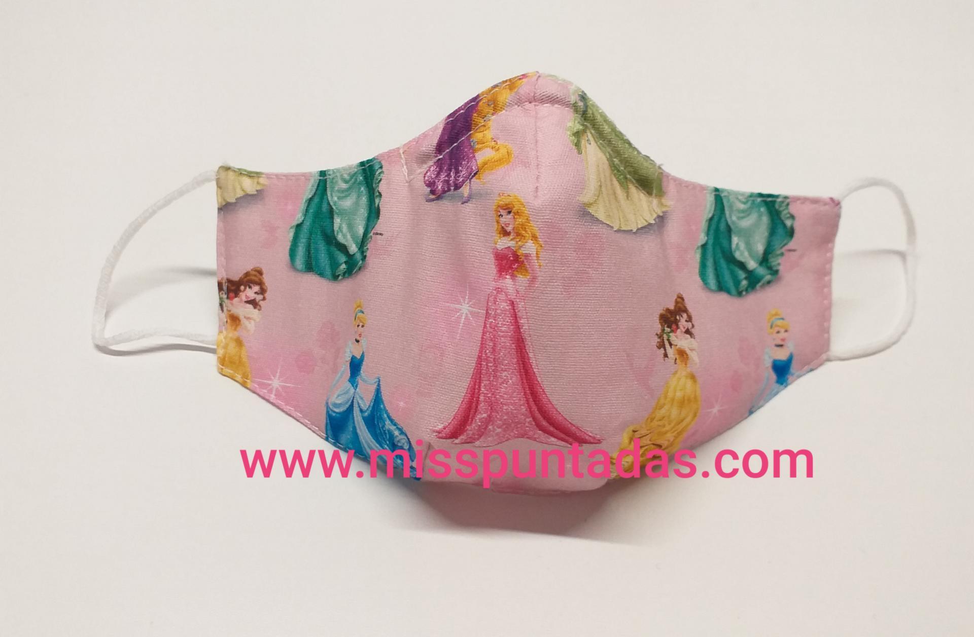 Mascarilla Princesas Disney MP-VR