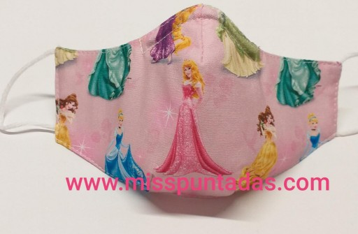 Mascarilla Princesas Disney MP-VR