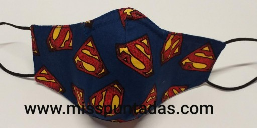 Mascarilla logo Superman MP-VR