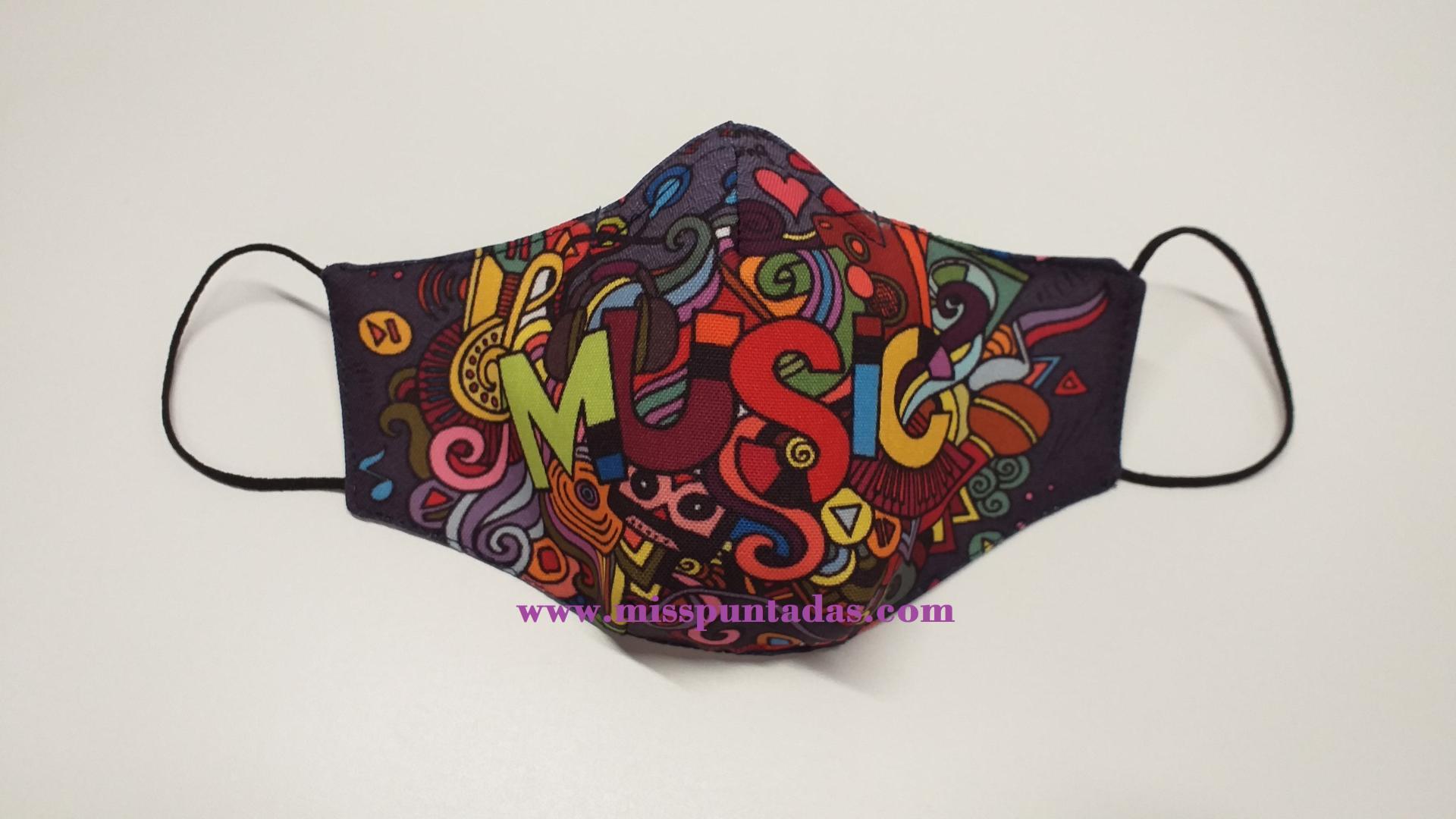 Mascarilla Music MP-VR.
